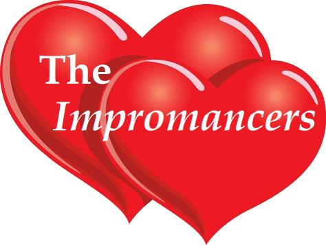 Two read hearts the love hearts of the impromancers
